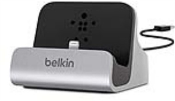 Belkin Lightning Dock Iphone Silver