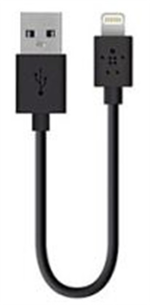 Belkin Iphone Lightning Charge/Sync Cable 1.2M Black