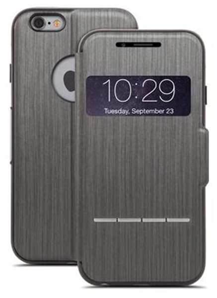 Moshi Sensecover Iphone 6/6S Steel Black