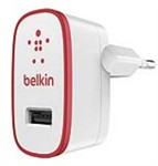 Belkin Wall Charger Usb 2.1A Red
