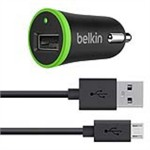 Belkin Car Charger 2.1A Microusb Cabl