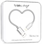 Happy Plugs Lightning Charge/ Sync Cable 2M Silver