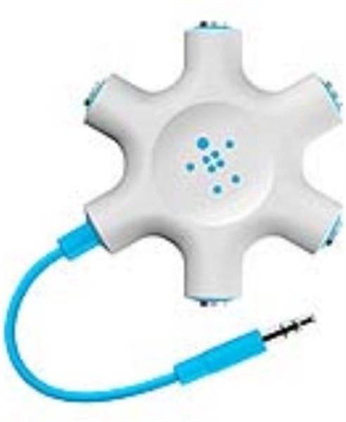 Belkin Rockstar Multi Headphone Splitter Blue