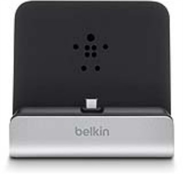 Belkin Micro-Usb Dock Smartphones and Tablets Silver