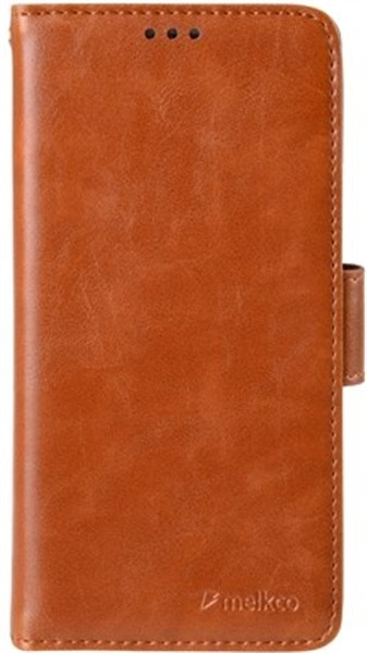 Melkco Walletcase Book S7 Edge Brown