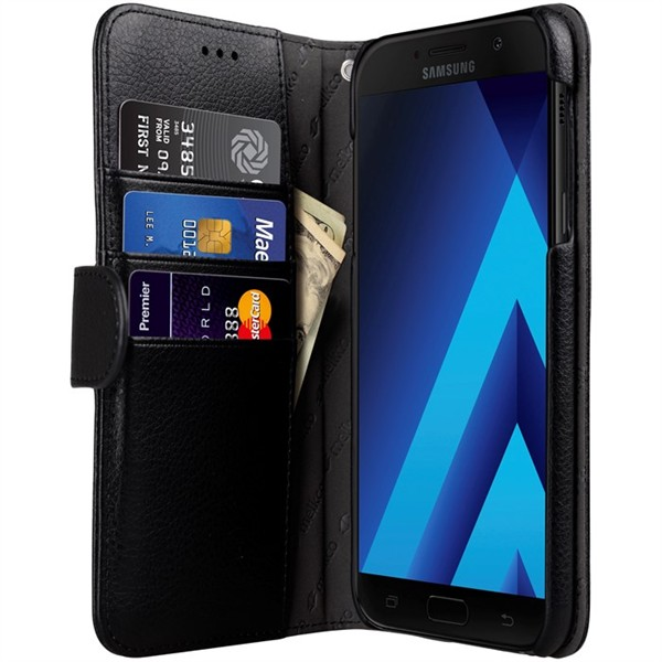 Melkco Walletcase Galaxy A3 2017 Black