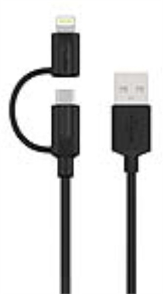 Kenu Tripline Lightning+Micro usb Charge/Sync Cable 1M