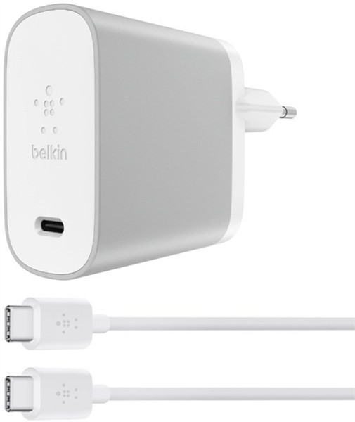 Belkin Wall Charger Usb-C 45W PD Silver