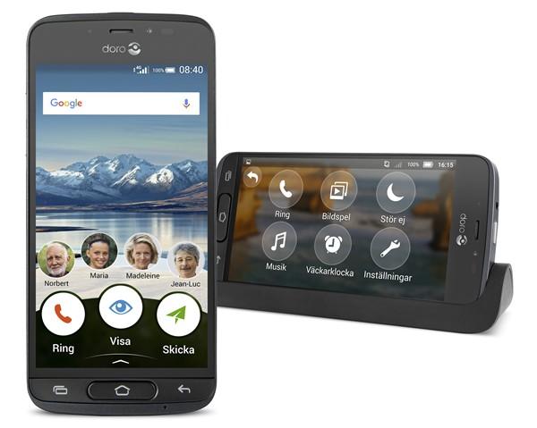 Doro 8040 4G Smart, Graphite