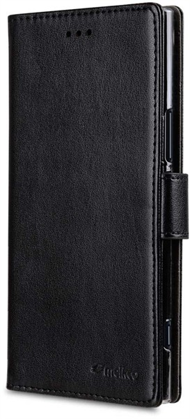 Melkco Walletcase Xperia XZ1 Black