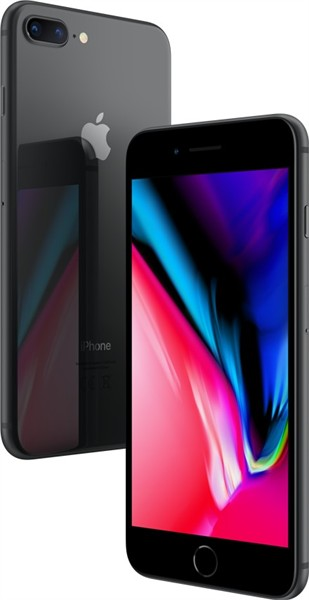 Apple iPhone 8 Plus 64Gb Space Grey Olåst
