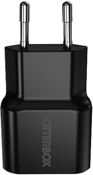 Otterbox Single Port Wall Charger 2.4A Black