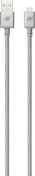 iFrogz Unique Sync Premium Micro Usb Cable 3M Silver