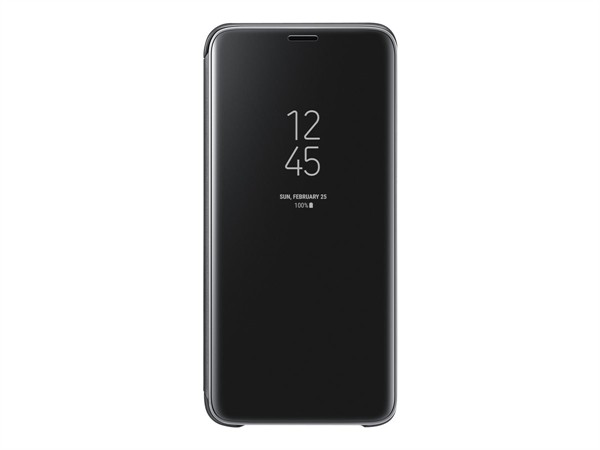 Samsung Clear View Standing Cover Galaxy S9 Black Ef-Zg960cbegww