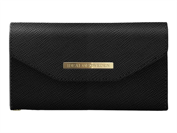 iDeal of Sweden Ideal Mayfair Clutch Samsung Galaxy S9 Black