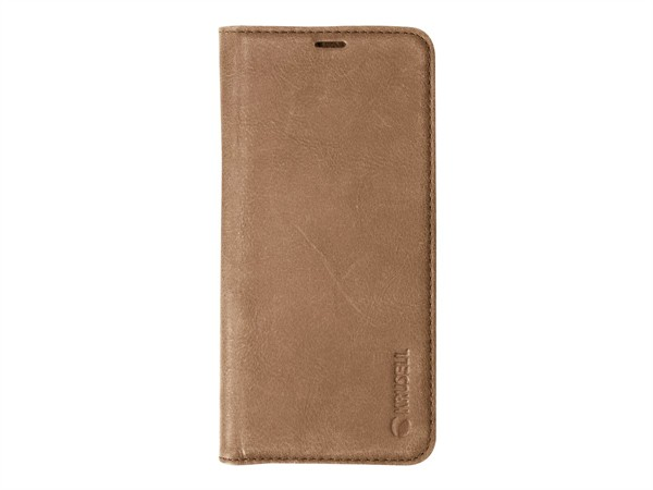 Krusell Sunne 2 Card Foliowallet Samsung Galaxy S9 Vintage Cognac