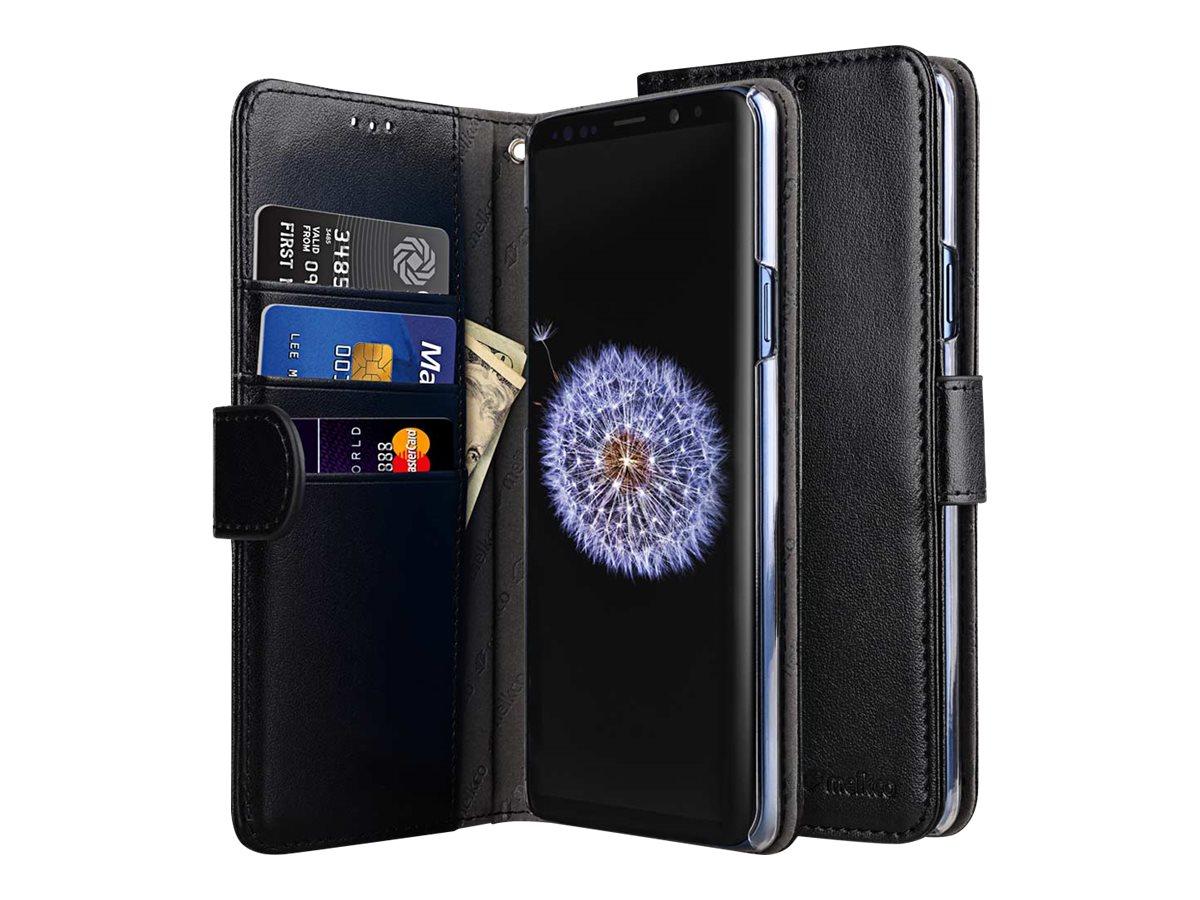 Melkco Walletcase Samsung Galaxy S9 Black