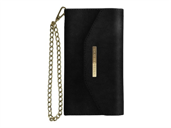 iDeal of Sweden Ideal Mayfair Clutch Velvet Iphone 6/6S/7/8 Plus Black