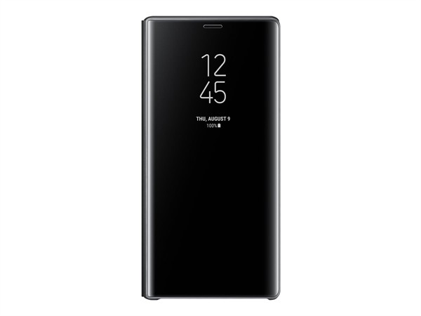 Samsung Clear View Standing Cover Note 9 Black EF-ZN960CBEGWW