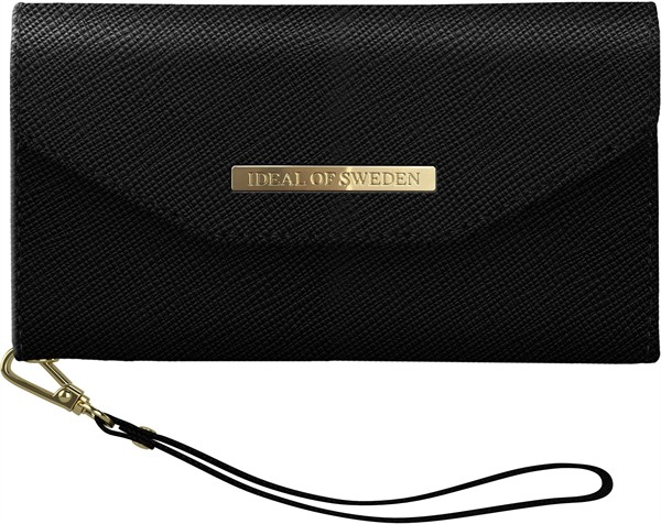 iDeal of Sweden Ideal Mayfair Clutch Iphone XR Black