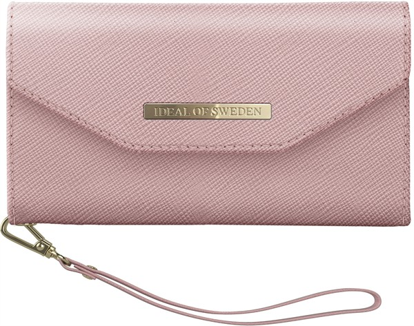 iDeal of Sweden Ideal Mayfair Clutch Iphone XR Pink