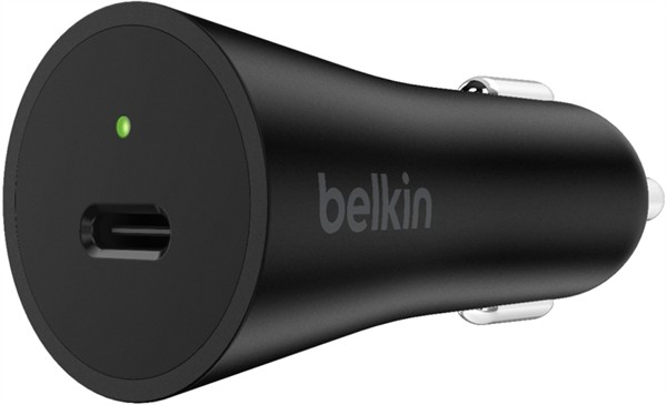 Belkin 27W Usb-C Power Delivery Car Charger Black