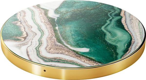 iDeal of Sweden Ideal Fashion QI Charger Golden Jade Marble