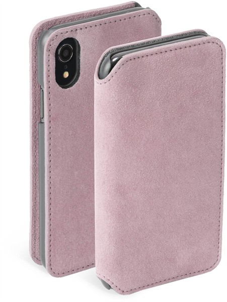 Krusell Broby 4 Card Slimwallet Iphone XR Pink