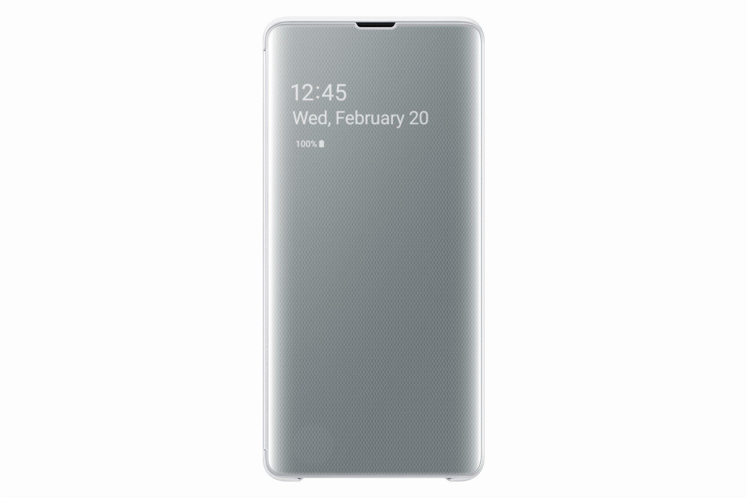 Samsung Clear View Cover Galaxy S10 Plus White EF-ZG975CWEGWW