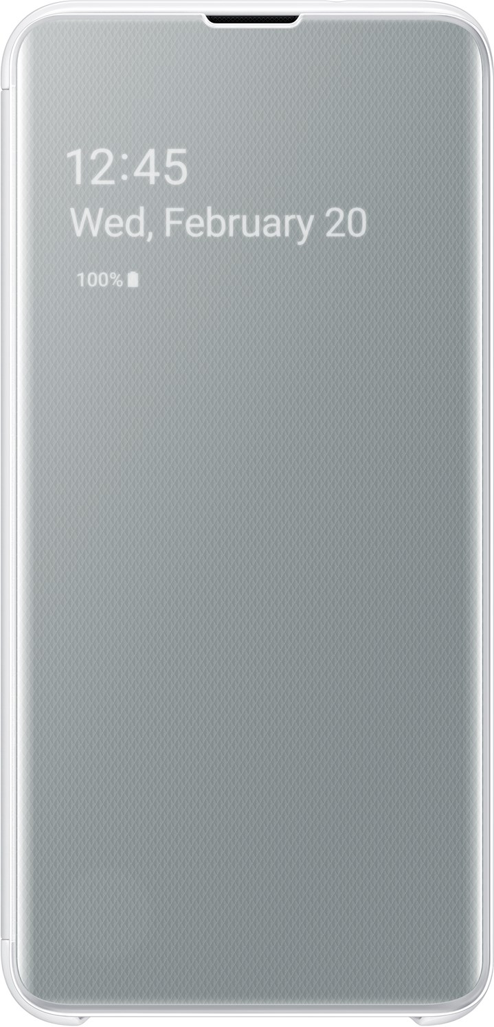 Samsung Clear View Cover Galaxy S10e White EF-ZG970CWEGWW