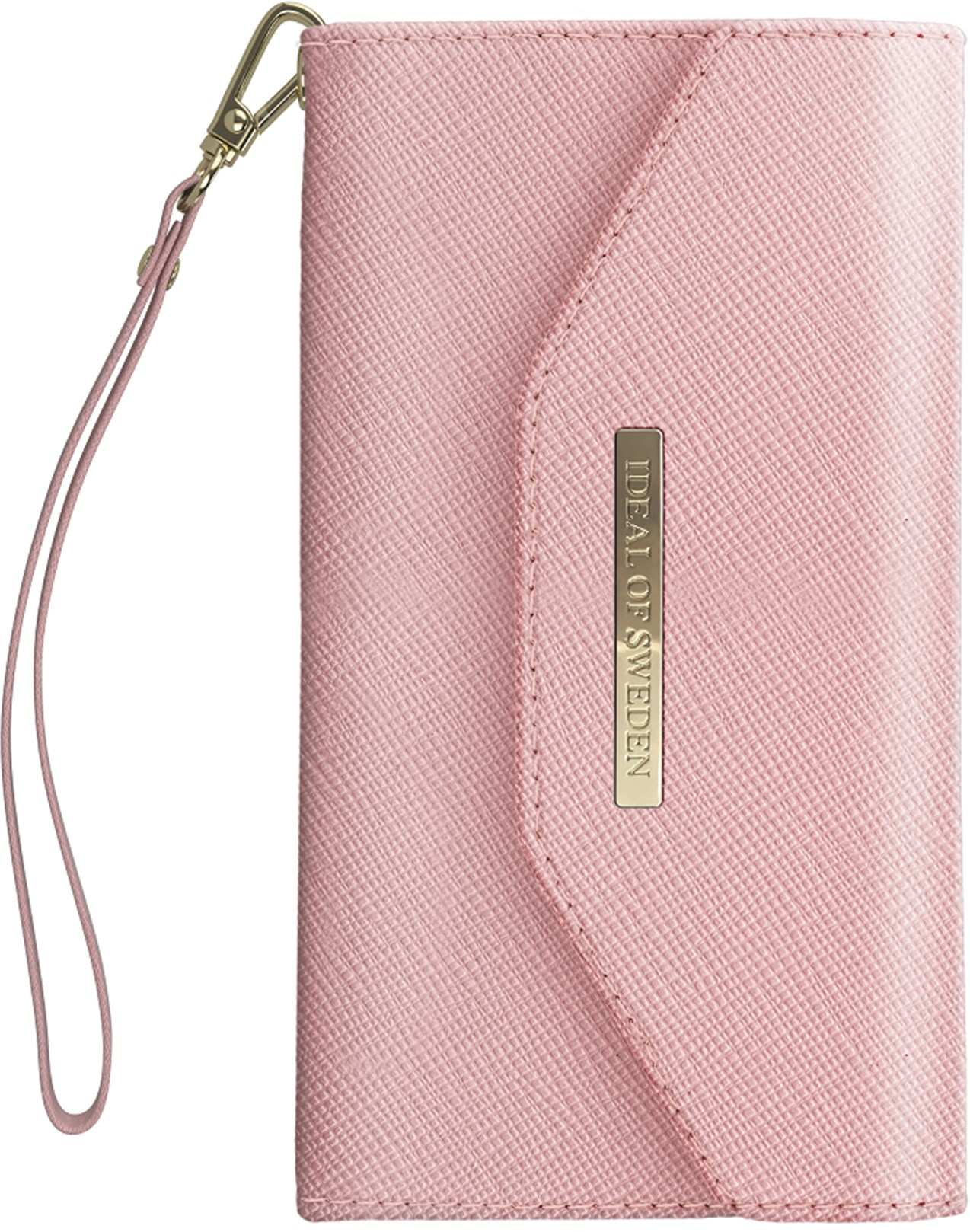 iDeal of Sweden Ideal Mayfair Clutch Samsung Galaxy S10 Plus Pink
