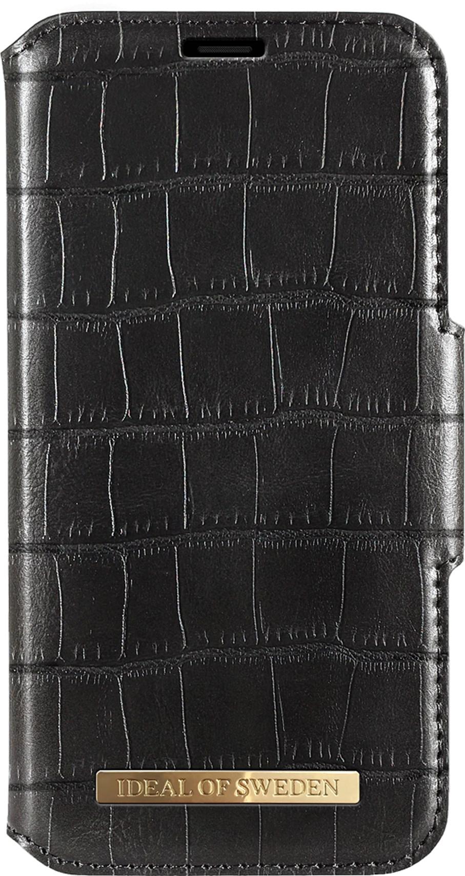 iDeal of Sweden Ideal Capri Wallet Samsung Galaxy S10 Plus Black Croco