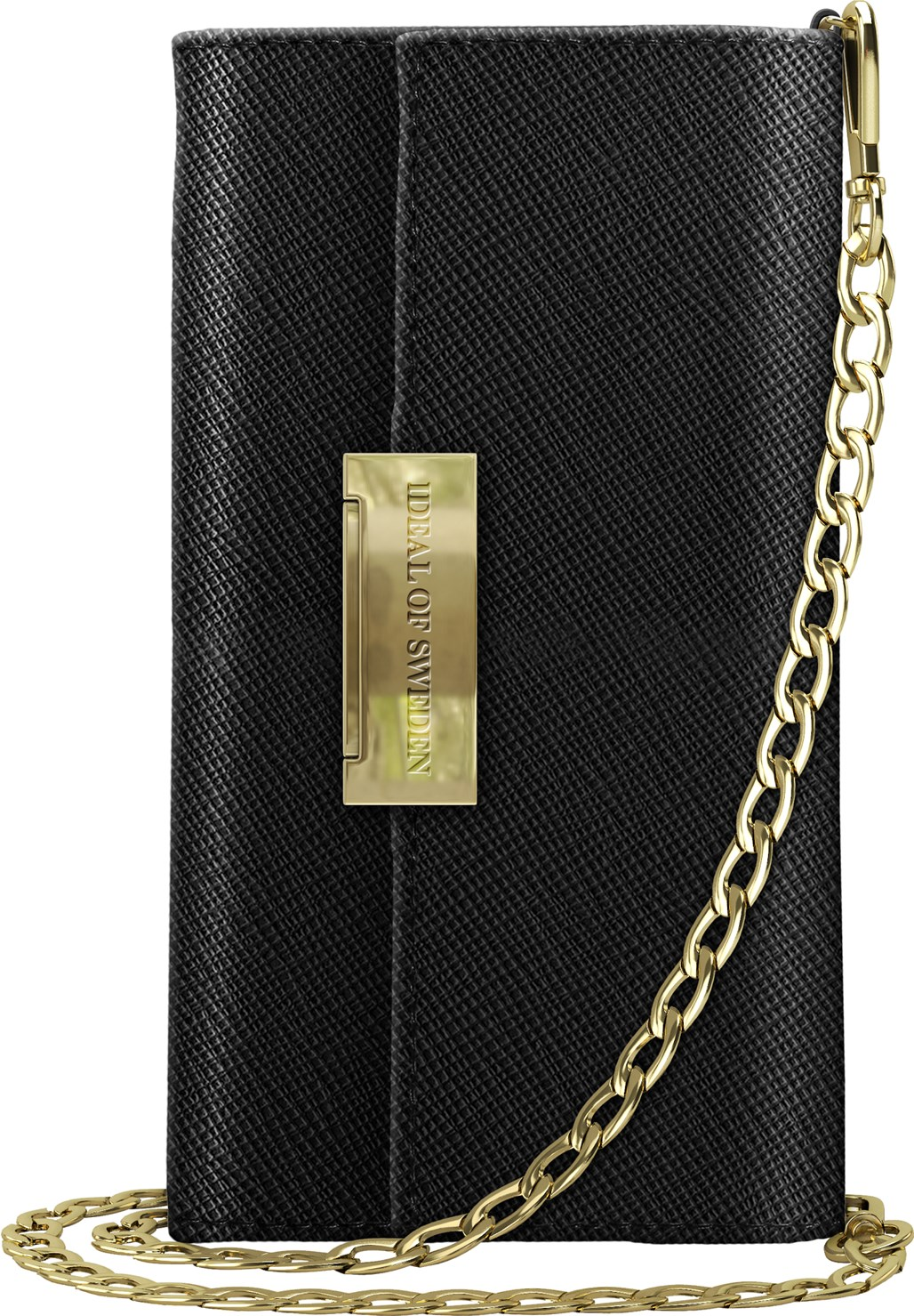 iDeal of Sweden Ideal Kensington Cross Body Clutch Iphone Xr Black