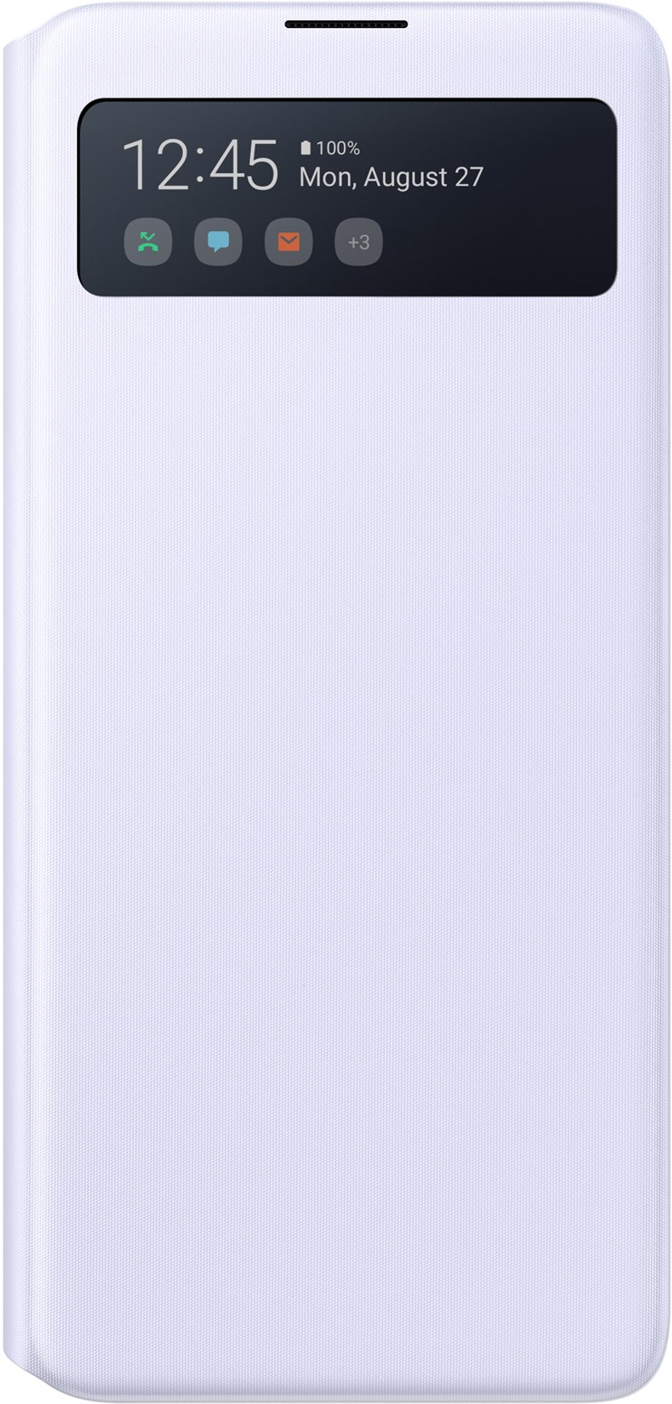 Samsung S-View Wallet Cover Galaxy A71 White EF-EA715PWEGEU