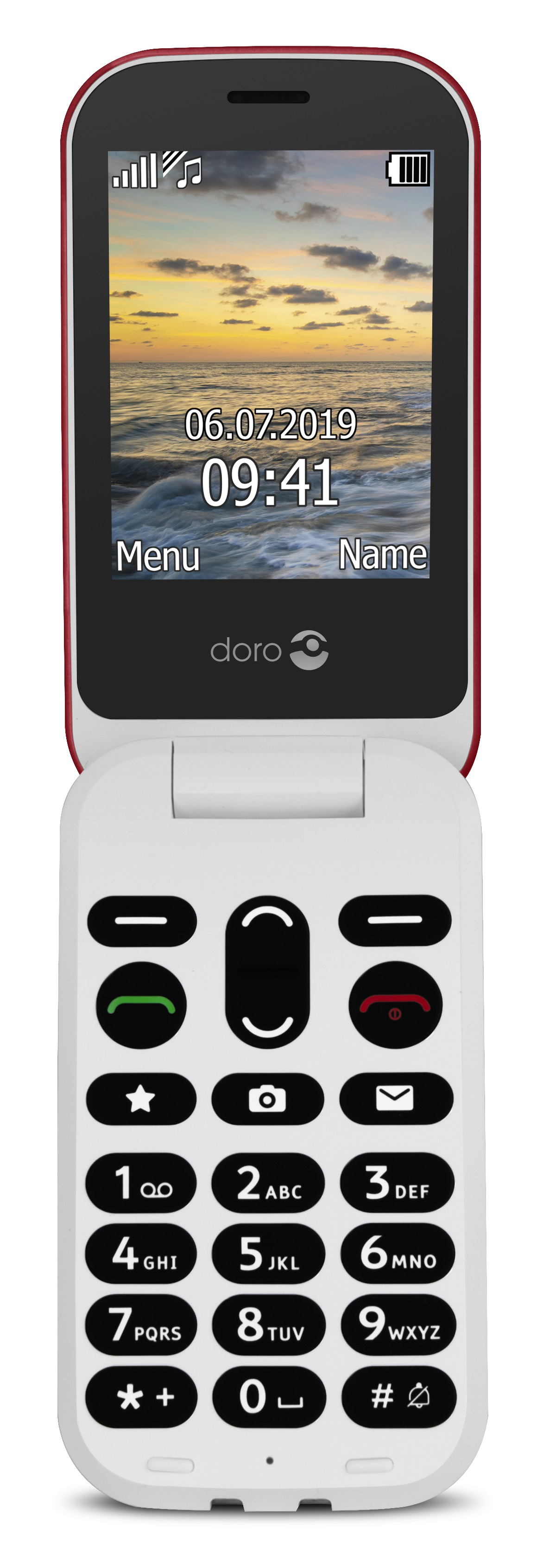 Doro 6041 Red/White