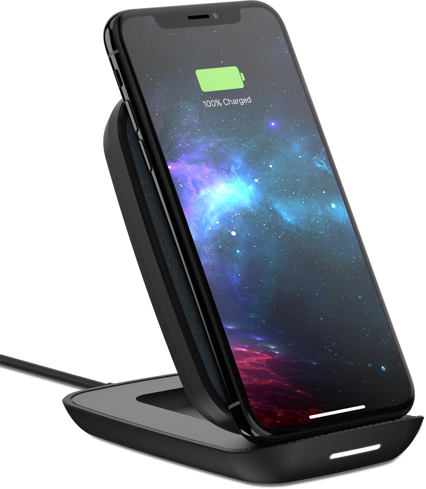 Mophie Universal Wireless Adjustable Charging Stand Eu - Black