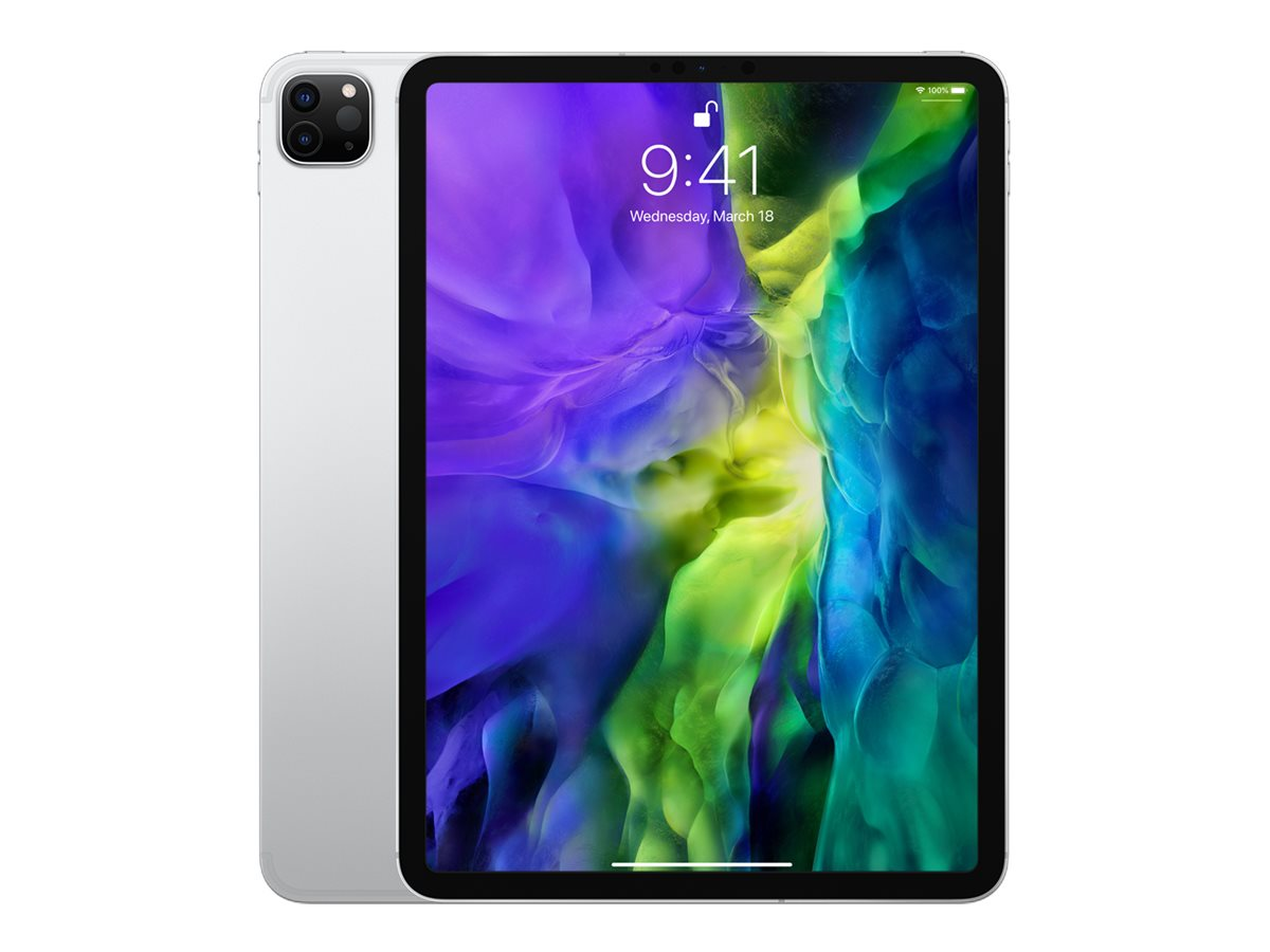 Apple 11-inch iPad Pro Wi-Fi + Cellular 128GB - Silver