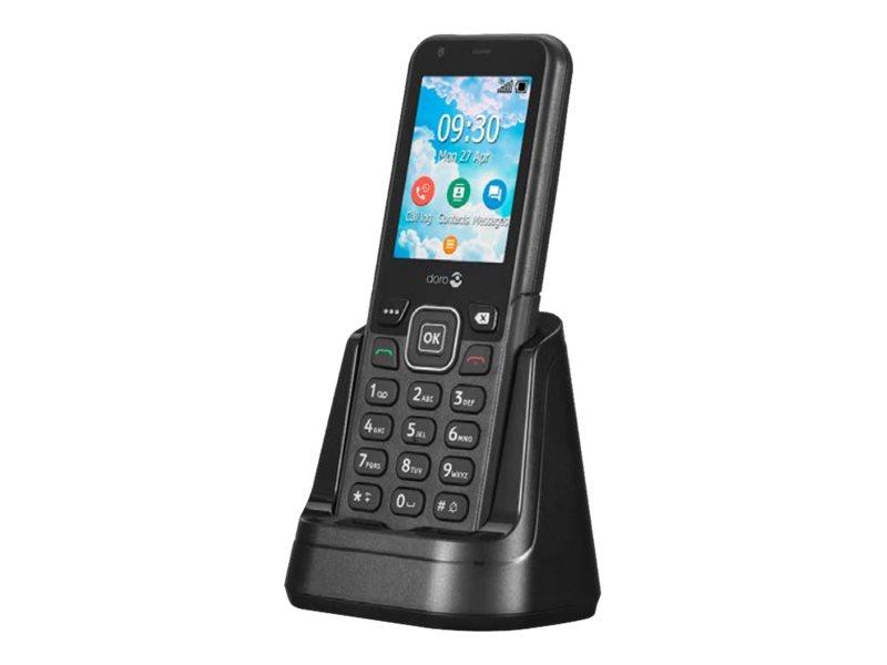 Doro 7001H 4G Home Phone, Graphite