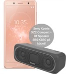 Sony Xperia XZ2 Compact H8324 Coral Pink + Speaker SRS-XB30