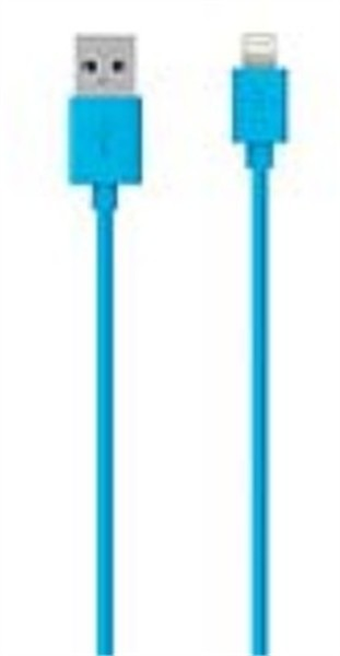 Belkin Iphone Lightning Charge/Sync Cable 1.2M Blue