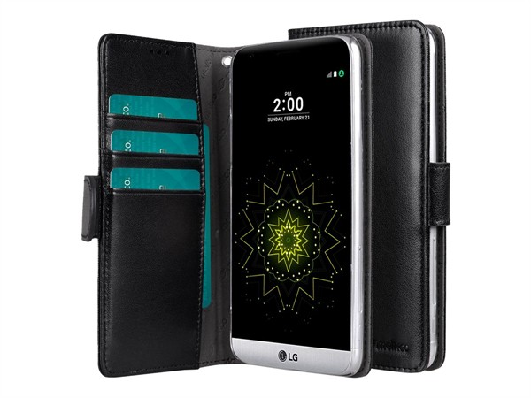 Melkco Walletcase Book LG G5 Black