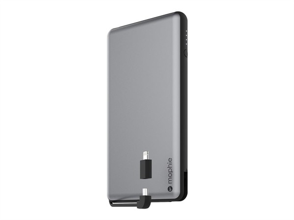Mophie Powerstation Plus XL Space Gray 12000mAh W Cable