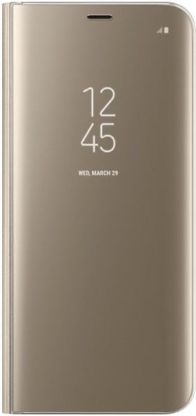 Samsung Clear View Standing Cover S8 Plus Gold