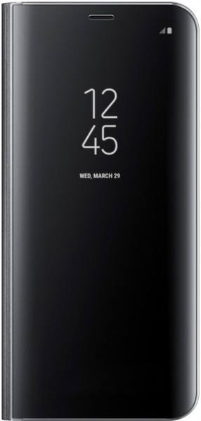 Samsung Clear View Standing Cover S8 Plus Black