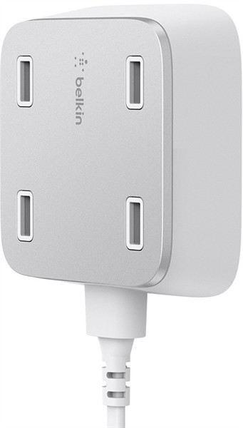 Belkin Family Rockstar 4-Port Usb Charger White
