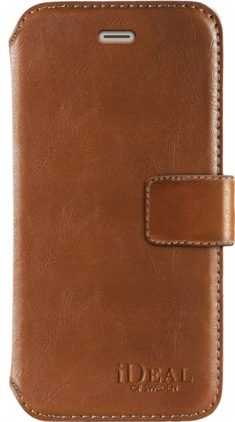 iDeal of Sweden Ideal Sthlm Wallet Iphone 6/6S/7/8/SE Brown