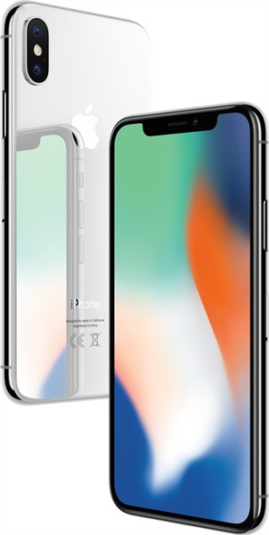 Apple iPhone X 64Gb Silver Olåst