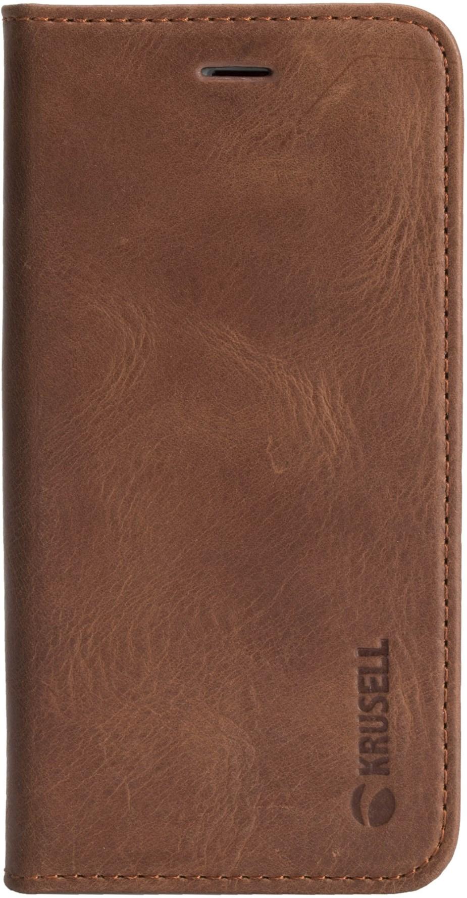 Krusell Sunne 4 Card Foliowallet Iphone 7/8 Vintage Cognac