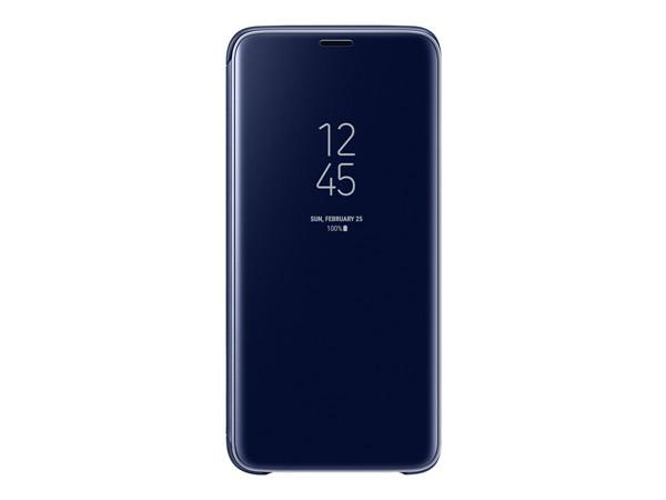 Samsung Clear View Standing Cover Galaxy S9 Blue Ef-Zg960clegww