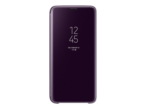 Samsung Clear View Standing Cover Galaxy S9 Purple Ef-Zg960cvegww